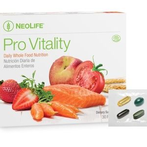 4 boxes NeoLife PRO-VITALITY Daily Whole Food Nutr